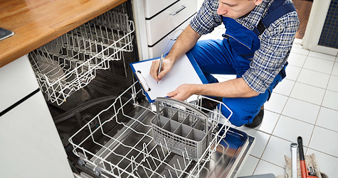 Frigidaire and Whirlpool Dishwasher Repair in Dallas